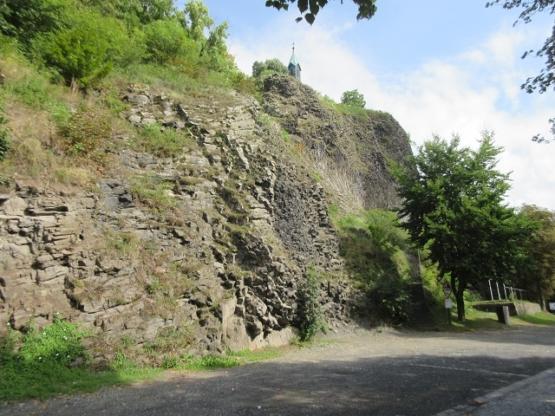 Die Basaltwand am Parkstein