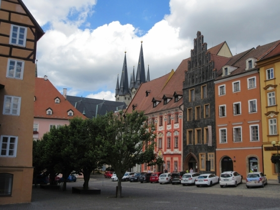 Auf dem Weg zur St. Nikolaus-Kirche