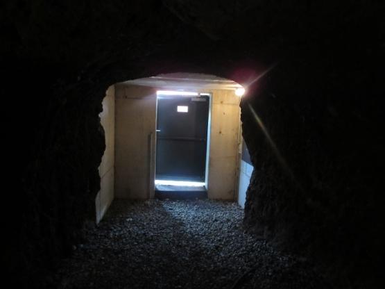 In einem der Felsenkeller
