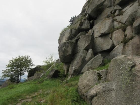 Granitblöcke