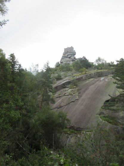 Granitplatten mit Burg