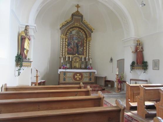 Eine kleine niedliche Kapelle.
