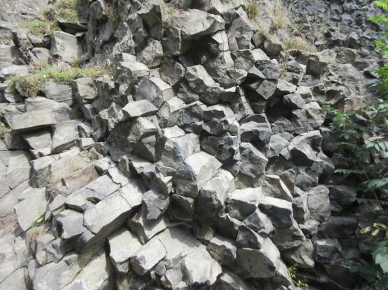 Basaltbrocken