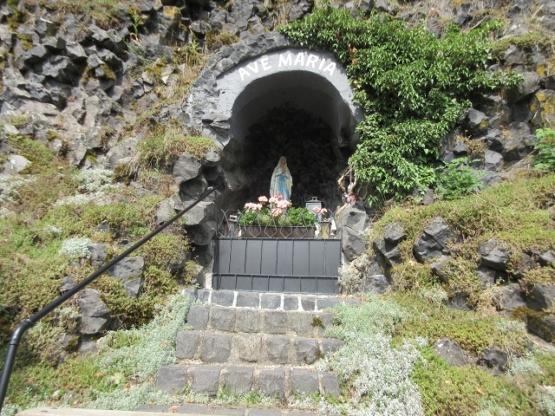 Die Mariengrotte im Steinbruch