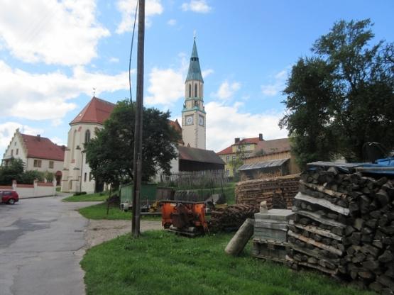 Die Kirche im Zentrum