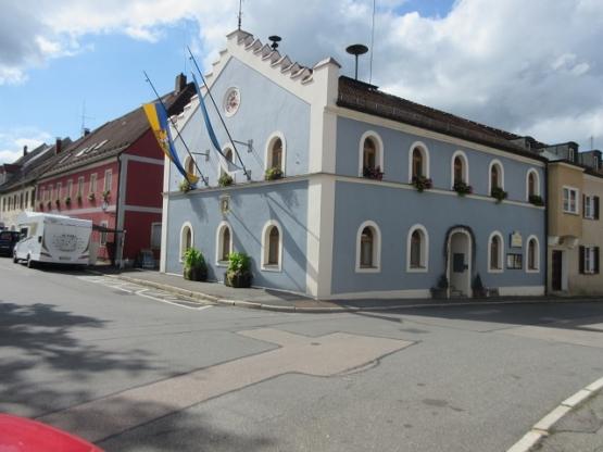 Das Rathaus von Pleystein