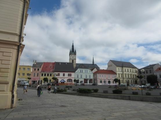 Der Marktplatz von Tachov