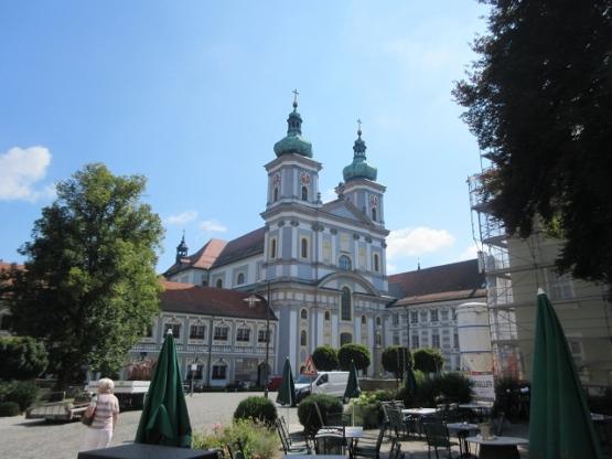Die berühmte Kloster-Basilika