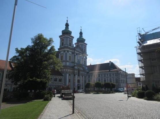 Die Stiftskirche von Waldsassen